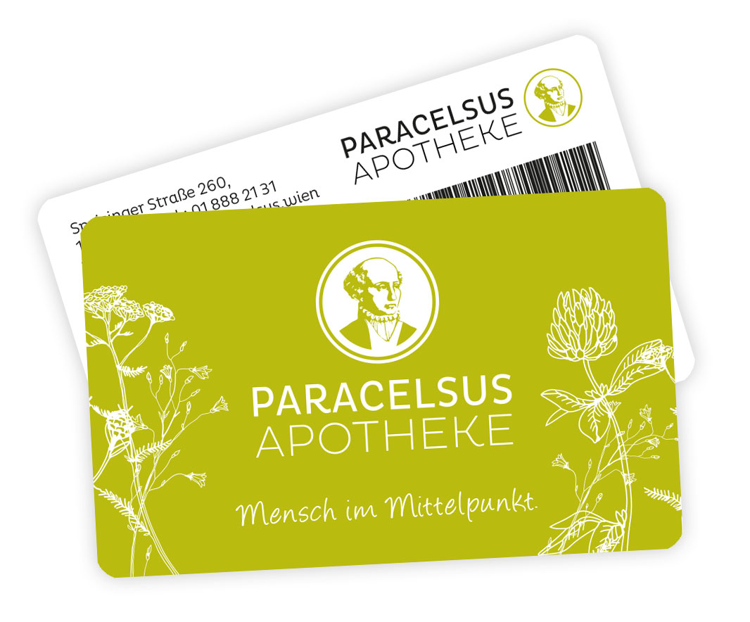 Paracelsus Apotheke Kundenkarte